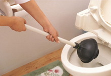 トイレのつまり  \8000円